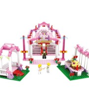 COGO Girl Series 13265 Royal Wedding 355 Pcs Building Block Sets Bricks Toys Best Gift for Girls