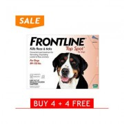 Frontline Top Spot Extra Large Dogs 89-132lbs (Red) 4 + 4 Free