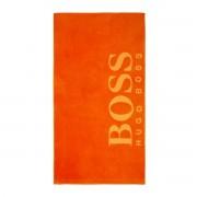 Boss Home - Serviette de plage 420 g/m² 100 x 180 cm Pop orange - Carved