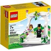 Lego 40165 Wedding Favor Set Wedding Celebration Set Wedding Bride and Groom Celebration Set 89 Piece [Parallel Import Goods]
