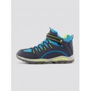 TOM TAILOR Sneaker met neon details, navy-yellow-turkis, 38