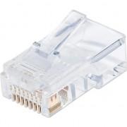 Cablu techly jack modular, RJ45, 8P8C, CAT.6 UTP, 100 unități (028894)