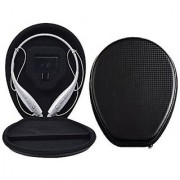 LG Headset Case YAMAY PU Leather Headphone Hard Cover Protective Travel Carrying Box Bag for LG Electronics Tone HBS 73