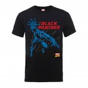 Marvel Camiseta Marvel Comics Black Panther - Hombre - Negro - XL - Negro