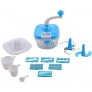 Incredible 10in1 Master 250 W Food Processor(Blue, White)