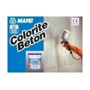 Vopsea pe baza de rasini acrilice semi transparenta pentru protectia suprafetelor cimentoase, Mapei COLORITE BETON, bidon 20kg