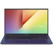 "Laptop Asus VivoBook X512DA-EJ172 (Procesor AMD Ryzen 5 3500U (4M Cache, up to 3.70 GHz), 15.6"" FHD, 8GB, 512GB SSD, AMD Radeon Vega 8, FPR, Albastru)"