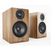 Acoustic Energy AE100 BOEKENPLANK SPEAKERS (2 STUKS) - WALNOOT