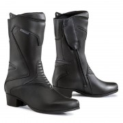 Forma Motorrad-Stiefel lang Motorrad-Schuh Ruby Damen Lederstiefel schwarz 36 schwarz