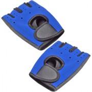Jm 1 Pair Neoprene Palm Support Wrist Protection Fingerless Sports Gloves Gym - 03