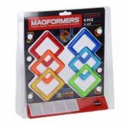 Lobbes Magformers Set Vierkant, 6dlg.