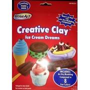 Rose Art Creative Clay Ice Cream Dreams