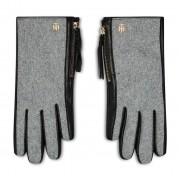 Дамски ръкавици TOMMY HILFIGER - Th Wool Mix Gloves AW0AW08943 0GY