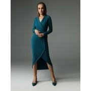 Sukienka Fern - ciemny turkus