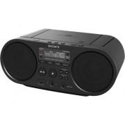 Sony Radio Boombox c/ Lector CD SONY Boombox ZS-PS50 (Negro - Digital - AM/FM - Pilas)