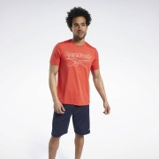 Reebok Workout Ready ACTIVCHILL T-shirt - Instinct Red - Size: Extra Small