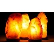 Lampa solna z soli himalajskiej o kształcie naturalnym 2 - 3 kg