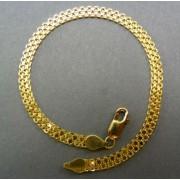 Zlatý náramok žlté zlato so vzorom dámsky DN19638Z
