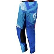 Scott 350 Dirt Motokrosové kalhoty 2018 30 Bílá Modrá