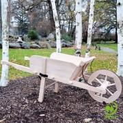 Lévi Brouette en bois Grand Modèle finition Luxy