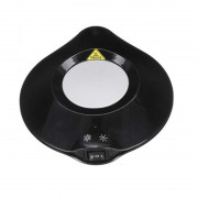 2-in-1 USB Cup Cooler Heater Plate Office Desktop Home Heating Cooling Device - Black / US Plug