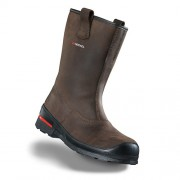 Vysoká kožená bezpečnostná obuv HECKEL MACSOLE 1.0 BFX 1 6264004 Farba: Hnedá, Veľkosť: 46