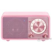 Sangean WR-7 Genuine Mini Bluetooth FM radio, pink