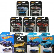 Ayb Products Forza Hot Wheels Retro Real Riders 2016 Ford Gt Lm /Porsche Gt3 Rs / Pagani Huayra '73 BMW Blue Speedster + Gran Turismo Lamborghini Need for Speed Nissan Fairlady Z