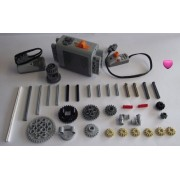 Lego Technic 37 Piece Motor Set With Accessories