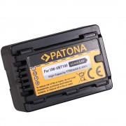 Patona Acumulator Replace Li-Ion pentru Panasonic VW-VBT190 1780mAh 3.6V