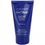 Davidoff Cool Water Woman Night Dive leite corporal para mulheres 150 ml