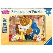 Ravensburger La Bella e La Bestia Puzzle 100 pezzi (13704)