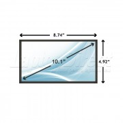 Display Laptop Dell INSPIRON 1012 10.1 inch 1024x576 WSVGA LED