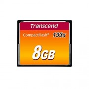 Transcend TS8GCF133 8GB Compact Flash Card (133x)