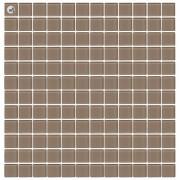 Maxwhite H29 Mozaika skleněná hnědá střední Latte 29,7x29,7cm sklo