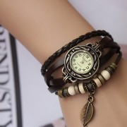 NEW BLA.. Leather Strap Watch Hand-knitted Leather watch women' watches