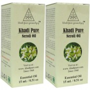 Khadi Pure Herbal Neroli Essential Oil - 15ml (Set of 2)