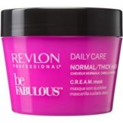 Revlon Professional Be Fabulous Daily Care máscara regeneradora e hidratante 200 ml