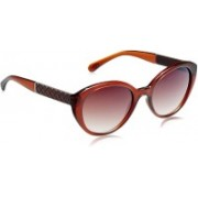 Gio Collection Cat-eye Sunglasses(Violet)