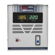 Однофазный стабилизатор напряжения UPOWER АСН 3000 II поколение
