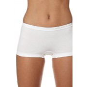 Brubeck Comfort Cotton női varrat nélküli boxer, fehér S