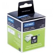 Dymo 99010 (S0722370) Etiket Zwart op wit (28 mm x 89 mm) 2 rollen