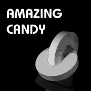 Magician's Close Up Amazing Linking Candy Link Unlink (MINT) Street Magic Trick