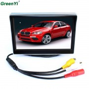TFT Lcd-monitoren 5 inch Auto monitor Video Speler Elektronische Screen 2CH Video Voor Auto Achteraanzicht Camera Apparatuur