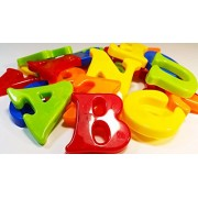Blossom Educational Series Magnetic ABCD Alphabet Blocks Toy for Kids to learn alphabets,make words and much more, Multi-color