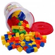 Set cuburi 144 de piese de plastic