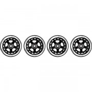 Soc WHEEL SET 90MM