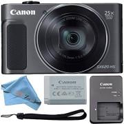Canon PowerShot SX620 Digital Camera w/25x Optical Zoom - Wi-Fi & NFC Enabled (Black) ZeeTech Bundle (Cloth Only)