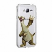 Husa Silicon Transparent Slim Ice Age Sid Samsung Galaxy J3 2016