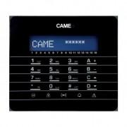 CAME PXKTN01 Clavier LCD, avec touches à effleurement et afficheur graphique. Noir. CAME 846CA-0050